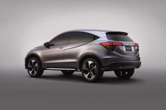 Back/Side of Honda Urban SUV Concept Concept, 2013