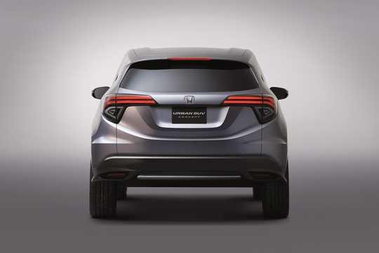 Back of Honda Urban SUV Concept Concept, 2013