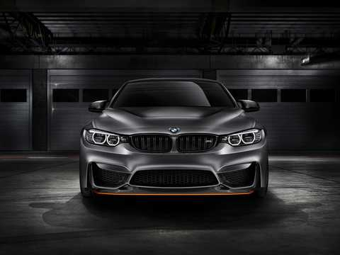 Front  of BMW M4 GTS Concept Concept, 2015
