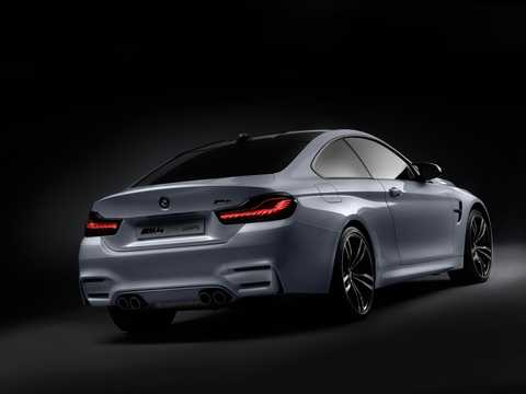 Back/Side of BMW M4 Iconic Lights Concept Concept, 2015