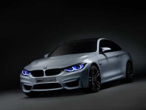 Fram/Sida av BMW M4 Iconic Lights Concept Concept, 2015