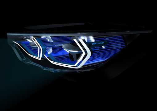 Närbild av BMW M4 Iconic Lights Concept Concept, 2015