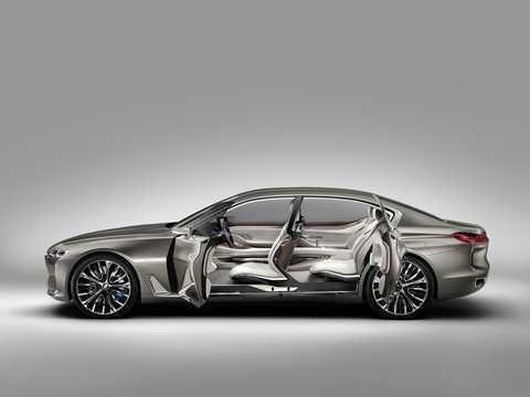 Sida av BMW Vision Future Luxury Concept Concept, 2014