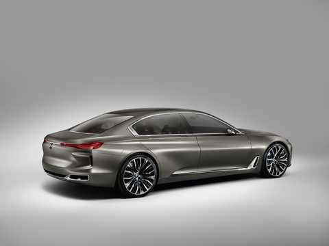 Bak/Sida av BMW Vision Future Luxury Concept Concept, 2014