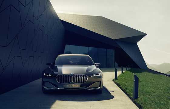 Fram av BMW Vision Future Luxury Concept Concept, 2014