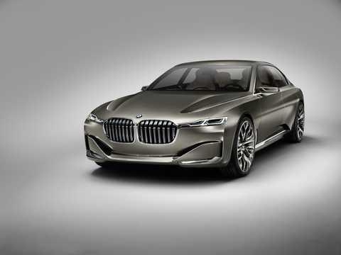 Fram/Sida av BMW Vision Future Luxury Concept Concept, 2014