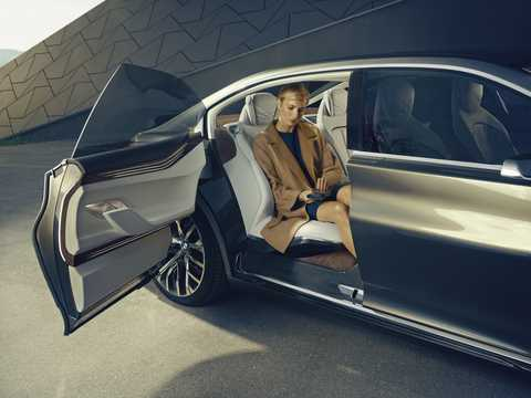 Närbild av BMW Vision Future Luxury Concept Concept, 2014