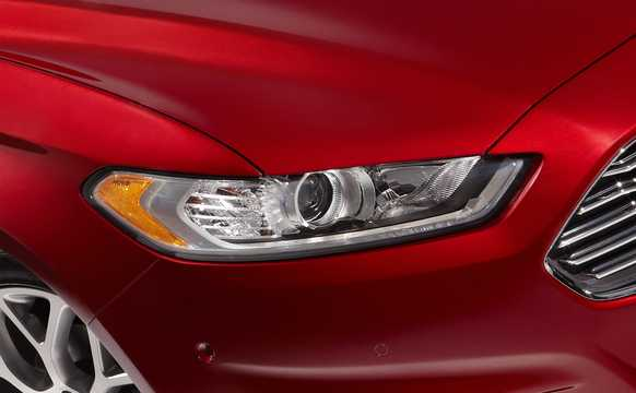Close-up of Ford Fusion 2013