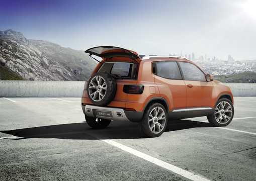 Back/Side of Volkswagen Taigun 1.0 Manual, 110hp, 2012