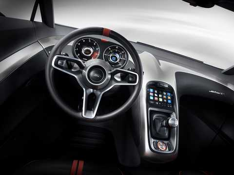 Interior of Ford Start Concept Concept, 2010