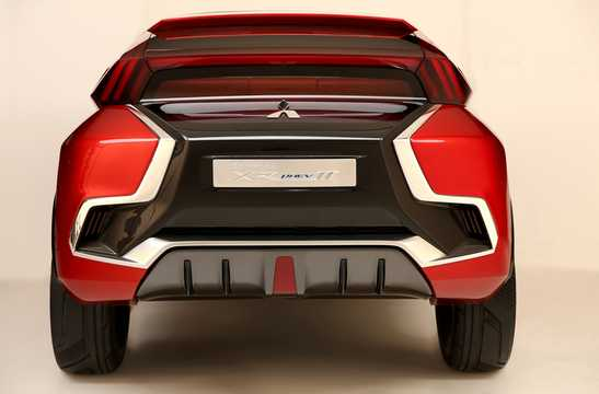 Back of Mitsubishi XR-PHEV II Concept Concept, 2015