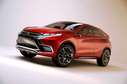 Front/Side  of Mitsubishi XR-PHEV II Concept Concept, 2015