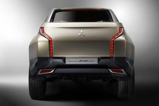 Bak av Mitsubishi GR-HEV Concept Concept, 2013