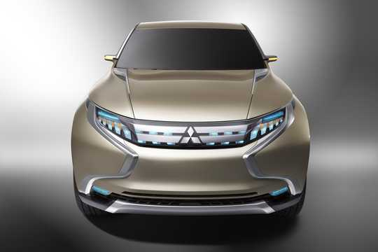 Front  of Mitsubishi GR-HEV Concept Concept, 2013