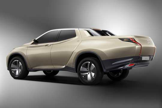 Back/Side of Mitsubishi GR-HEV Concept Concept, 2013