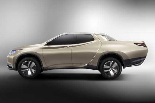 Sida av Mitsubishi GR-HEV Concept Concept, 2013