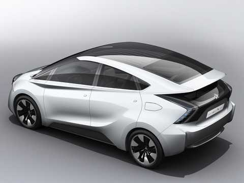 Bak/Sida av Mitsubishi CA-MiEV 28 kWh Single Speed, 108hk, 2013