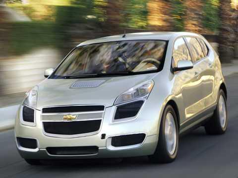 Fram/Sida av Chevrolet Sequel Fuel Cell Single Speed, 156hk, 2006