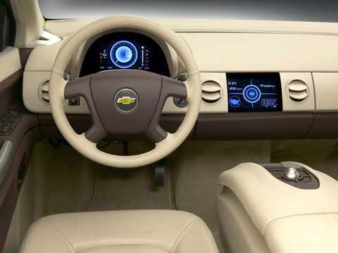 Interiör av Chevrolet Sequel Fuel Cell Single Speed, 156hk, 2006