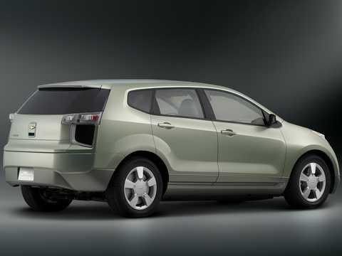 Bak/Sida av Chevrolet Sequel Fuel Cell Single Speed, 156hk, 2006