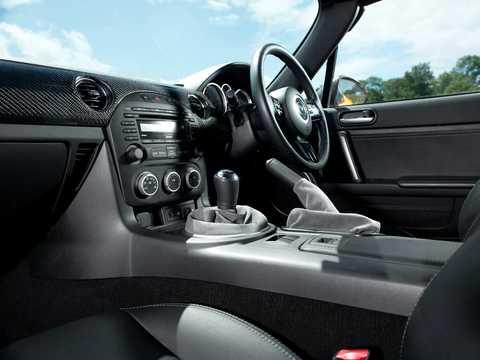 Interior of Mazda MX-5 GT 2.0 Manual, 208hp, 2012