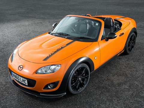 Front/Side  of Mazda MX-5 GT 2.0 Manual, 208hp, 2012