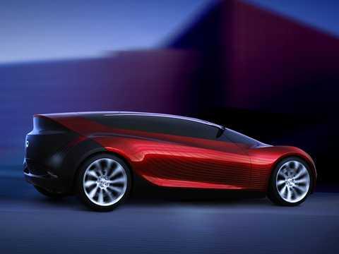 Bak/Sida av Mazda Ryuga Concept Automatisk, 2007