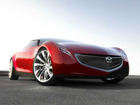 Fram/Sida av Mazda Ryuga Concept Automatisk, 2007