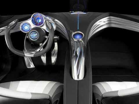 Interior of Mazda Ryuga Concept Automatic, 2007