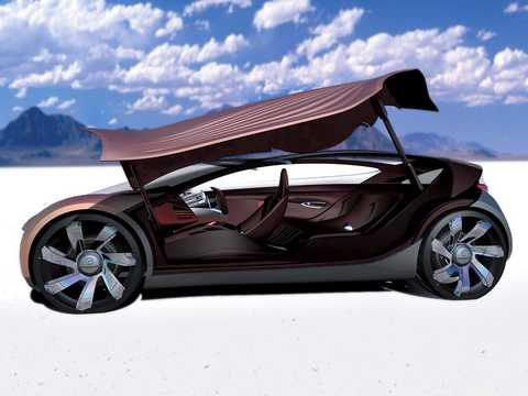 Side  of Mazda Nagare Concept Concept, 2006