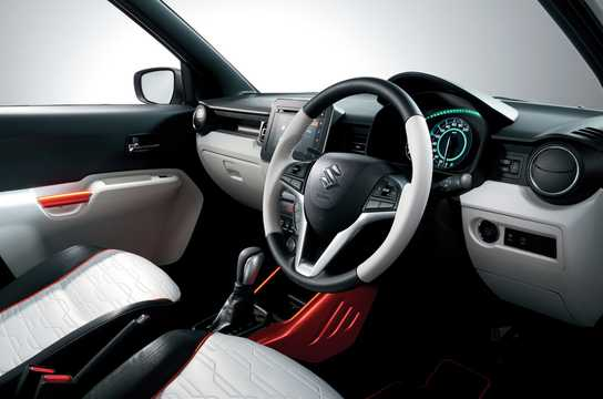 Interior Of Suzuki Ignis Trail Concept 2015