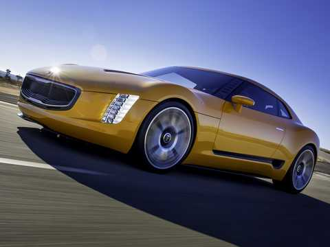 Front/Side  of Kia GT4 Stinger 2.0 Manual, 315hp, 2014