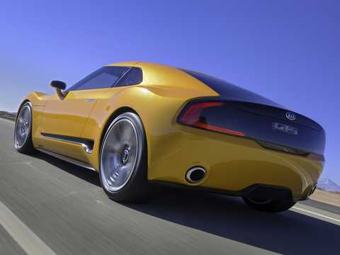 Back/Side of Kia GT4 Stinger 2.0 Manual, 315hp, 2014