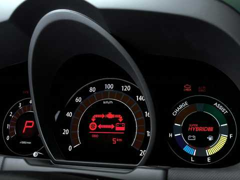 Interior of Kia Cee'd Hybrid 1.6 GDi CVT, 141hp, 2008