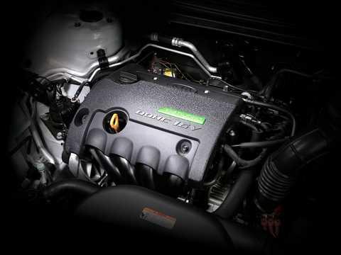 Engine compartment  of Kia Cee'd Hybrid 1.6 GDi CVT, 141hp, 2008