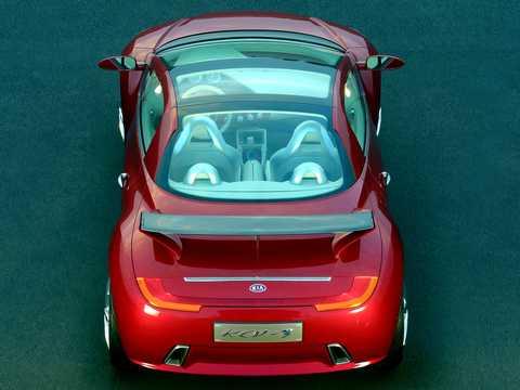 Bak av Kia KCV-III Concept Concept, 2003