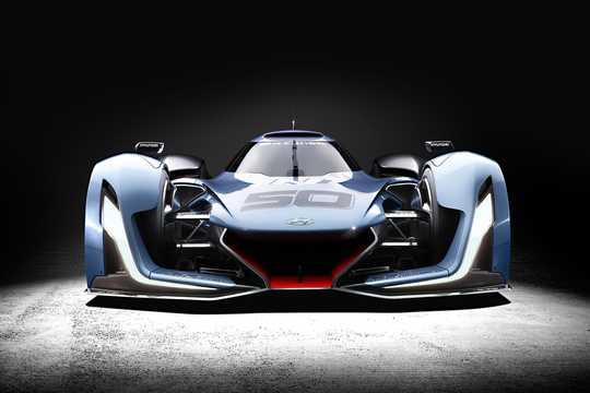 Front  of Hyundai N 2025 VGT Concept Concept, 2015