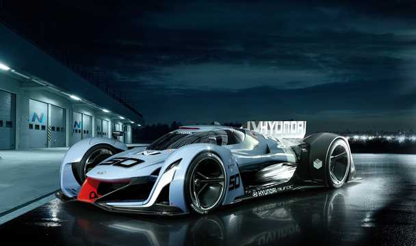 Front/Side  of Hyundai N 2025 VGT Concept Concept, 2015
