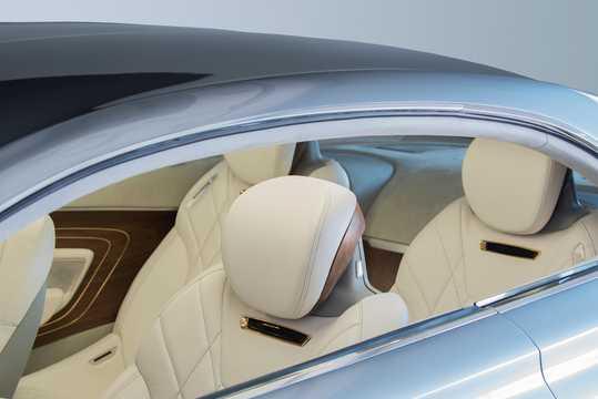 Interior of Hyundai Vision G Coupé Concept Concept, 2015