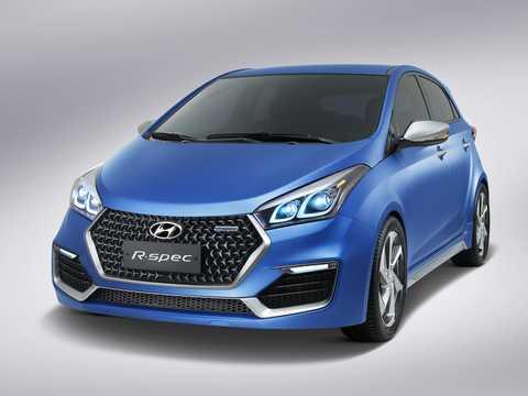 Front/Side  of Hyundai HB20 R-Spec Concept Concept, 2014