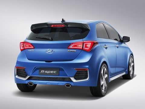 Back/Side of Hyundai HB20 R-Spec Concept Concept, 2014