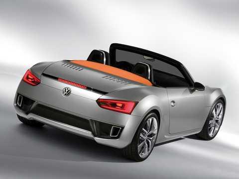 Back/Side of Volkswagen BlueSport Concept Concept, 2009