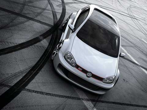 Front/Side  of Volkswagen Golf GTI W12-650 6.0 W12 Automatic, 659hp, 2007