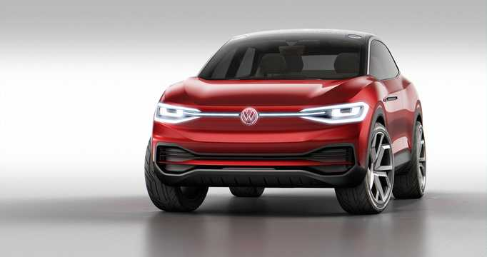 Front/Side  of Volkswagen I.D. Crozz II 83 kWh 4Motion Single Speed, 306hp, 2017