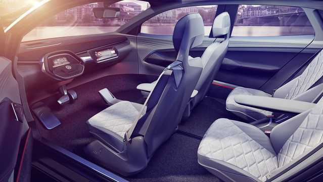 Interior of Volkswagen I.D. Crozz II 83 kWh 4Motion Single Speed, 306hp, 2017
