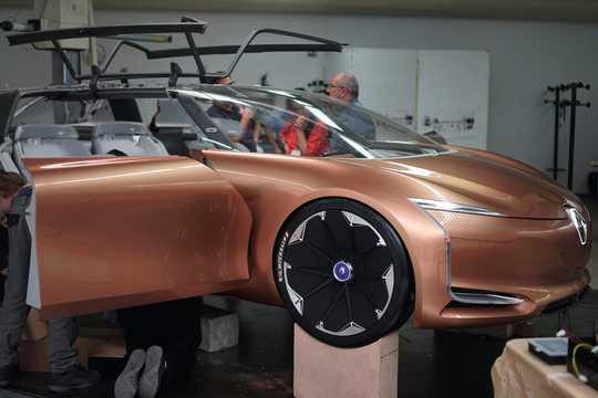 Fram/Sida av Renault Symbioz Concept Concept, 2017