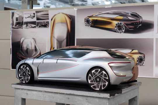 Back/Side of Renault Symbioz Concept Concept, 2017