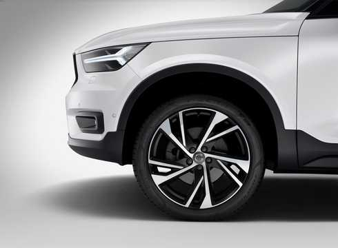 Close-up of Volvo XC40 2.0 T5 AWD Geartronic, 247hp, 2018