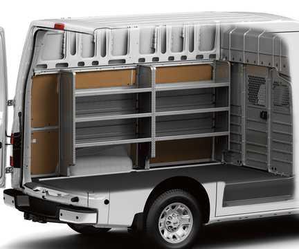 Interiör av Nissan NV3500 HD Cargo Van 5.6 V8 Automatisk, 317hk, 2015