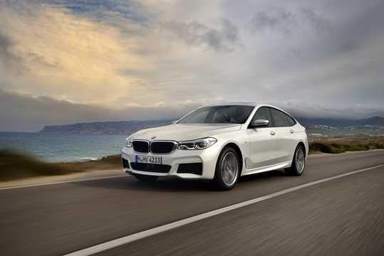 Front/Side  of BMW 640i Gran Turismo xDrive 3.0 xDrive Steptronic, 340hp, 2018
